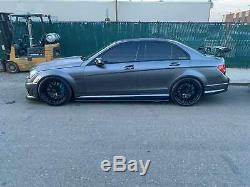 Jupes En Fibre De Carbone Side Spoiler Lip Pour Bmw Vw Audi Benz Honda Bmw 205cm