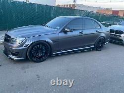 Jupes Latérales En Fibre De Carbone 2pcs Pour Audi R8 Tt Tts Lexus Is300 Infiniti G37 215cm