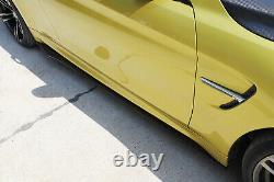 Jupes Latérales En Fibre De Carbone Lip Rocker Panel Pour Bmw Benz Vw Audi Infiniti 200cm