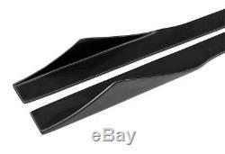 Jupes Latérales Lèvres Pour Mercedes Benz W205 C250 C300 C400 C63 Universal Carbon Fiber