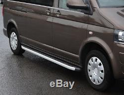 Marchepieds Latéraux En Aluminium Pour Tableaux Compatibles Avec Le Sprinter Mwb 06+ De Mercedes-benz