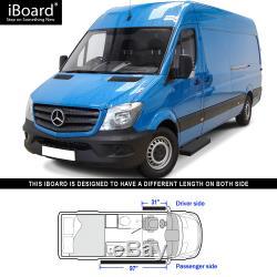 Marchepieds Latéraux Iboard Premium Fit N ° 6 Fit 10-19 Dodge / Mercedes-benz Sprinter