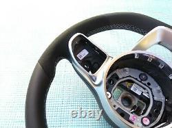Mercedes A W177 C W205 E W213 Cls C258 G Nappa/alcantara Sw Amg/sport Gris Flat