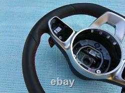 Mercedes A W177 C W205 E W213 Cls C258 G Nouveau Nappa Leather Sw Amg/sport Rouge Flat