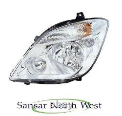 Mercedes Benz Sprinter Passenger Side Headlamp Phare No Fog N/s Gauche 0614
