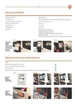 Mercedes Benz Sprinter Van Achete Automatique Electrouille De Porte Porte Clais