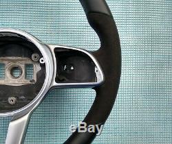 Mercedes C300 18-19 A220 E300 G550 Nappa / Alcantara Volant Sport Flat Non