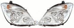 Mercedes Sprinter 2006- Avec Brouillard Phare Droit O Rh Headlamp / S Côté Conducteur