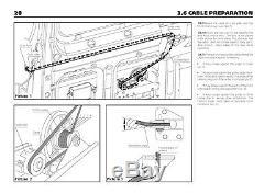 Mercedes Sprinter Automatique Puissance Électrique Coulissante Côté Câble Ouvre-porte Troc