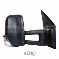 Mercedes Sprinter Long Arm Wing Miroir Et Indicateur Côté Conducteur Rh Mer686