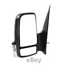 Nouveau Miroir De Porte Électrique Pour Mercedes Benz Sprinter Van 2009-2013 Côté Gauche