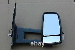 Oem Factory 07-12 Sprinter Van Remorquage Miroir Passager Côté Côté Verre Porte Droite
