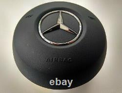 Oem Mercedes C W177 W205 Sprinter Volant Noir Airbag Non Sport (2sc)