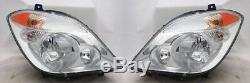 Paire De Phare Latéral Droit Et Gauche Pour 07-08 Dodge / 10-13 Mercedes Sprinter