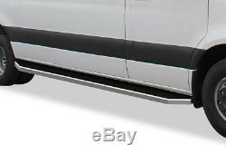 Poli 6 Iboard Side Step Bar Fit 10-19 Dodge Sprinter Mercedes-benz