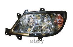 Pour Mercedes Sprinter 02-06 Lampe Frontale Électrique Droite Uk Drivers Side