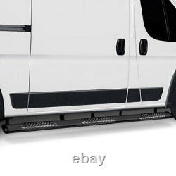 Pour Mercedes-benz Sprinter 2500 10-20 Luverne 6 O-mega II Barres Latérales Ovales Noires