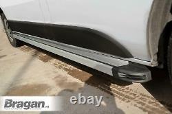Pour S'adapter 06-14 Mercedes Sprinter Swb Running Board Aluminium Multi Couleur - Silver