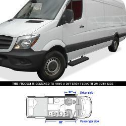 Premium 5 Black Iboard Side Steps Fit 10-21 Dodge Mercedes-benz Sprinter