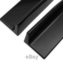 Regardez Carbone Jupes Latérales Bas De Caisse Extension Pour Mercedes Benz Cla
