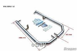 S'adapte À La Barre De Coin Latérale Arrière En Acier Inoxydable Mercedes Sprinter 06 14 L4