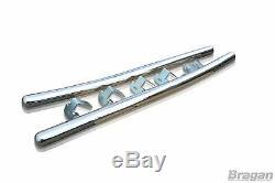 Side Bar Pour Mercedes Sprinter Elwb 2006-2014 Poli Tube Inoxydable Van Jupes
