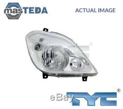 Tyc Droit Phare Headlamp 20-11813-15-2 G Nouveau Oe Remplacement