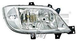 Tyc Scheinwerfer Links Für Mercedes Sprinter W904 W903 2002-2006 9018202461