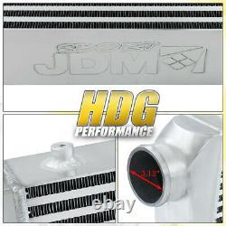 Universal 30.75x11.75x3 Performance Racing Jdm Front Mount Aluminium Intercooler