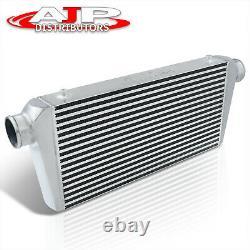 Universal Full Aluminum Turbo Front Mount Intercooler 31x11.75x3 Plaque À Barres
