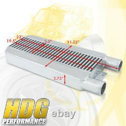 Universal Jdm Performance Turbo Front Mount Intercooler Light Weight Bar & Plate