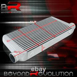 Universal Turbo Supercharger Bar & Plate Intercooler Cool Air System 31x11.75x3