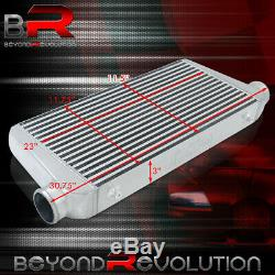 Universal Turbo Supercharger Bar & Plate Intercooler Refroidissent Air System 31x11.75x3