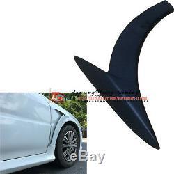 Unpainted Côté Fender Vent Aero Air Couverture Garniture Aile Spoiler Pour MB Benz Sedan