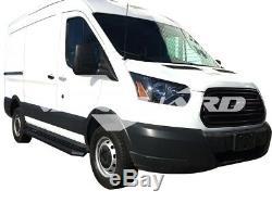 Vanguard 15-18 Ford Transit 150 250 350 Side Step Marchepied Set B / K