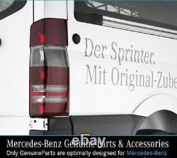 Véritable Mercedes Tinted/smoked Effect Tail Lamp Côté Droit, Sprinter
