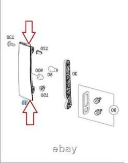 Véritable Oem Mercedes Sprinter Passenger Side Tail Light Assembly Partielle Led