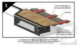 Vw Crafter/mercedes Sprinter Campervan Step Extension Storage Box