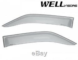 Wellvisors Pour 10-17 Mercedes Benz Sprinter Vitres Latérales Aérations Déflecteurs